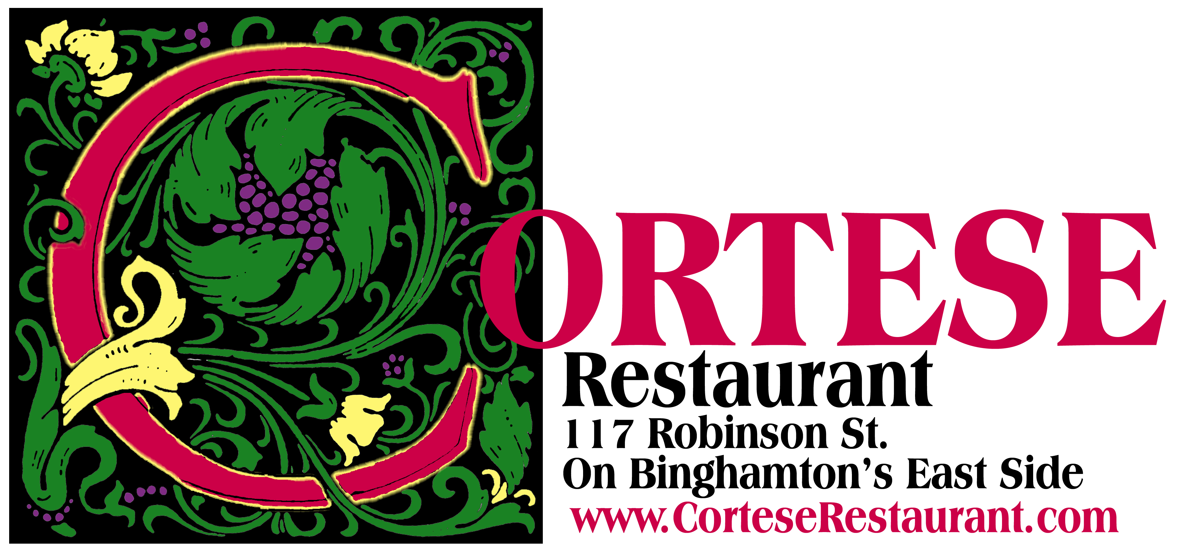 Logo-Color-Name-WebApr2008 Cortese Restaurant