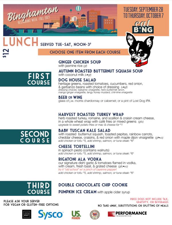 lost_dog_lunch Restaurant Week Menus